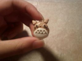 Polymer Clay Totoro Cookie by Xvayluna243