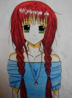 Me as an Anime character by Ginchi-chan