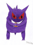 Cassidy the Gengar by Pfaccioxx