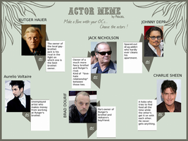 Cracky actor meme by Seal-of-Metatron