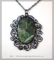 Forest Landscape by blackcurrantjewelry