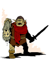 Mountain Orc by FrostieFilly
