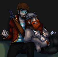 Drinking with you (Yogs) by Zanith
