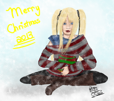 Christmas Contest Entry 2013- Welcome Marie Rose! by Rie--Rie
