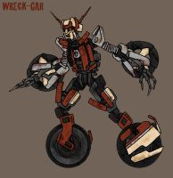 Transformers movie: Wreck-Gar by Fishbug