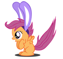 Scootaloo Bunny! by Camsy34