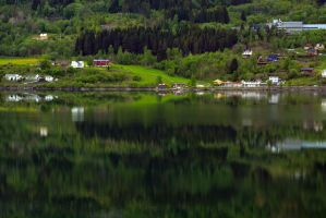 Sailing the fjords to Skjolden 58 by abelamario