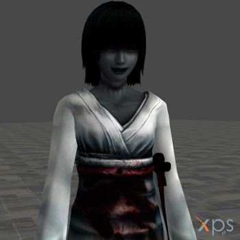 Fatal Frame 2 Ghost - Sae by mz3dcg