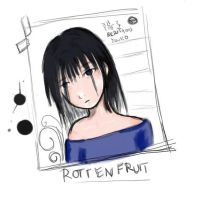 Rotten fruit by redstains