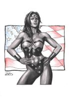 Wonder Woman by J-Redd
