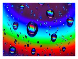 Rainbow Droplets II by artistic-illusions