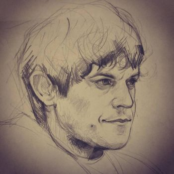 Ramsay Bolton - Sketch - by JuliaFox90