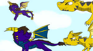 REQUEST #1 A Dragon Family by Darkpaw-Lights