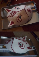Cosplay: Menma's mask - almost  finished by goiku
