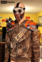 Borderlands Bandit Steve Cosplay cell shading by SKSProps