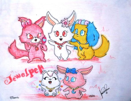 Jewelpets Tinkle by ConejoWhite