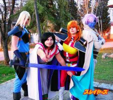 Slayers Group by TornadoSugus