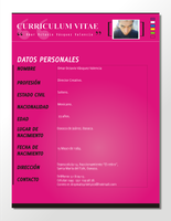 Curriculum Vitae by asyntetyco