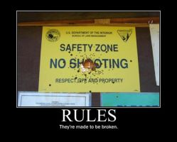 Poster - RULES by E-n-S