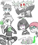 Sketchs Comic Spectro by YellowFangWarrior