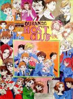 Ouran High School Host Club ( OHSHC ) FULL by Falcofan100