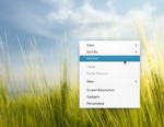 Context Menu Concept for Linux by rodrigoDSCT