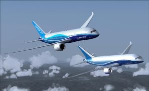 Boeing 787 Meets 7E7 2 by B737TheAirliner