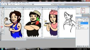 Game Grumps Cartoons WIP by NostalgiaBomb