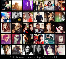 Castle icons 02 by cassie93