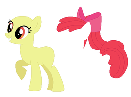Adult Apple Bloom Base by SelenaEde