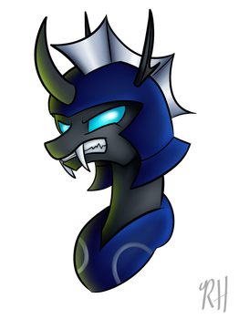 (MADE BY: ROBYNNESKI) Commander of the Swarm by TwilightIsMagic