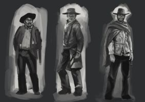 The Good The Bad and The Ugly by Chris0919
