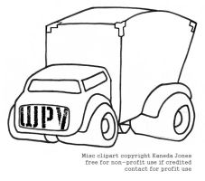 WPV AKA WHITE PANEL VAN by Kaneda-Jones