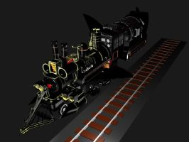 Bttf Time train hover mode 2 by g2mdluffy