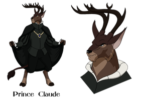 Commission - Prince Claude by BennytheBeast