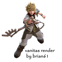 kingdom hearts ventus render by LumenArtist
