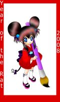 Year of the Rat Collab gimei by CuddlyBunneh