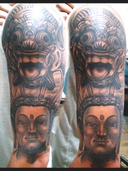 BG Half Sleeve by saddamoil