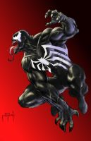 Venom in Color - Jason Metcalf by JasonMetcalf