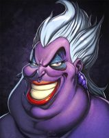 Disney Villains Ursula by NicChapuis