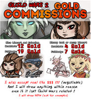 GUILD WARS 2 GOLD COMMISSIONS by xSaria