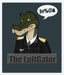 The LuftGator Badge by TheAngryFishbed