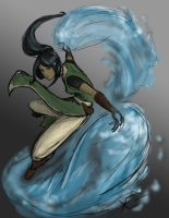 Anana the Water Bender by Xero-Genesis