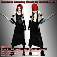 BloodRayne in dress mod by HailSatana