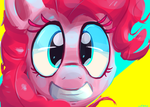 Happy Pinkie by SenxShine