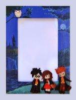Hogwarts Photo Frame by DoodleDuo