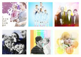 Icon BeckhamVictoria's Family by Minta2k1