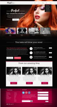 BlackSwan Creative Theme by yuval10203