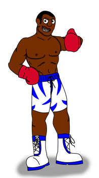 Request for Jagoman169: Tyson Floyd by MrPyre