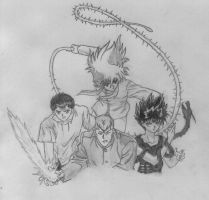 Yu Yu Hakusho group by Alkmerethiel